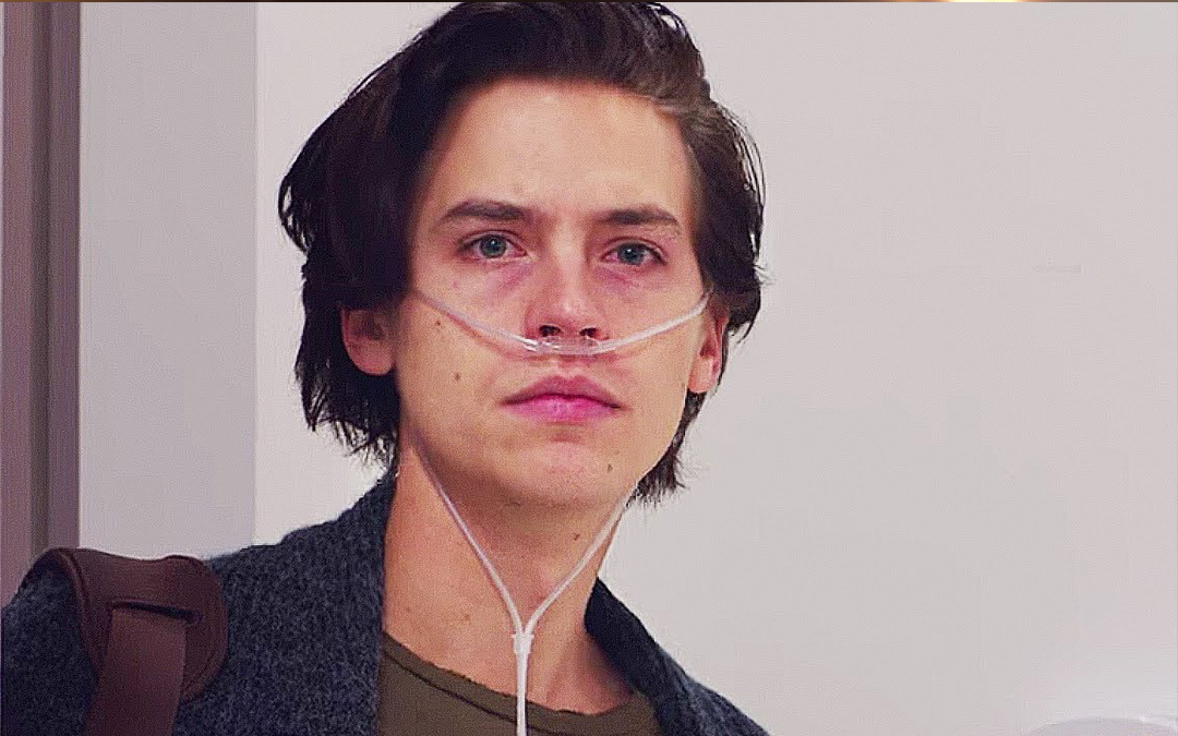 "Cole Sprouse as Will in ""Five Feet Apart"" (Credit: CBS Films)"