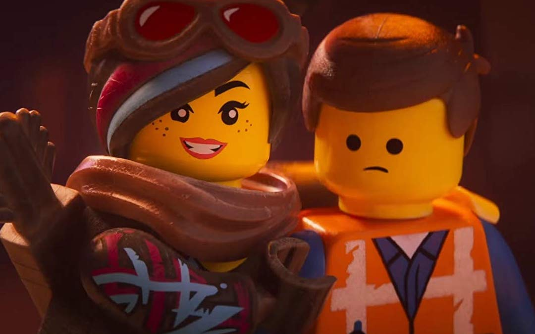 Wyldstyle and Emmet in 'The Lego Movie 2'