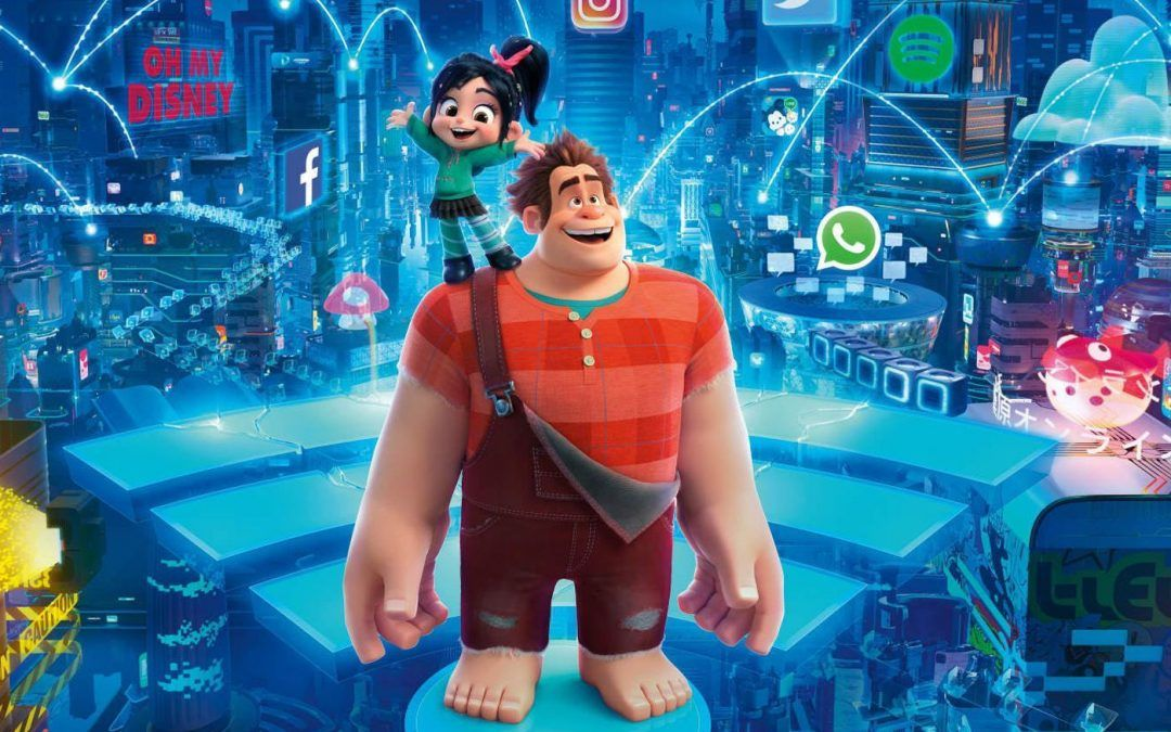 Cinemaholics Podcast – Ralph Breaks The Internet