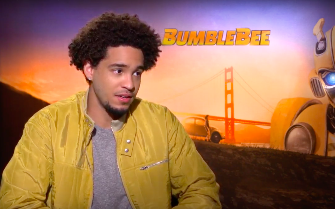 Jorge Lendeborg Jr. in an interview for 'Bumblebee'