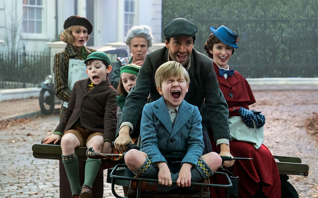 Lin-Manuel Miranda and Emily Blunt in 'Mary Poppins Returns' (Credit: Walt Disney Studios)