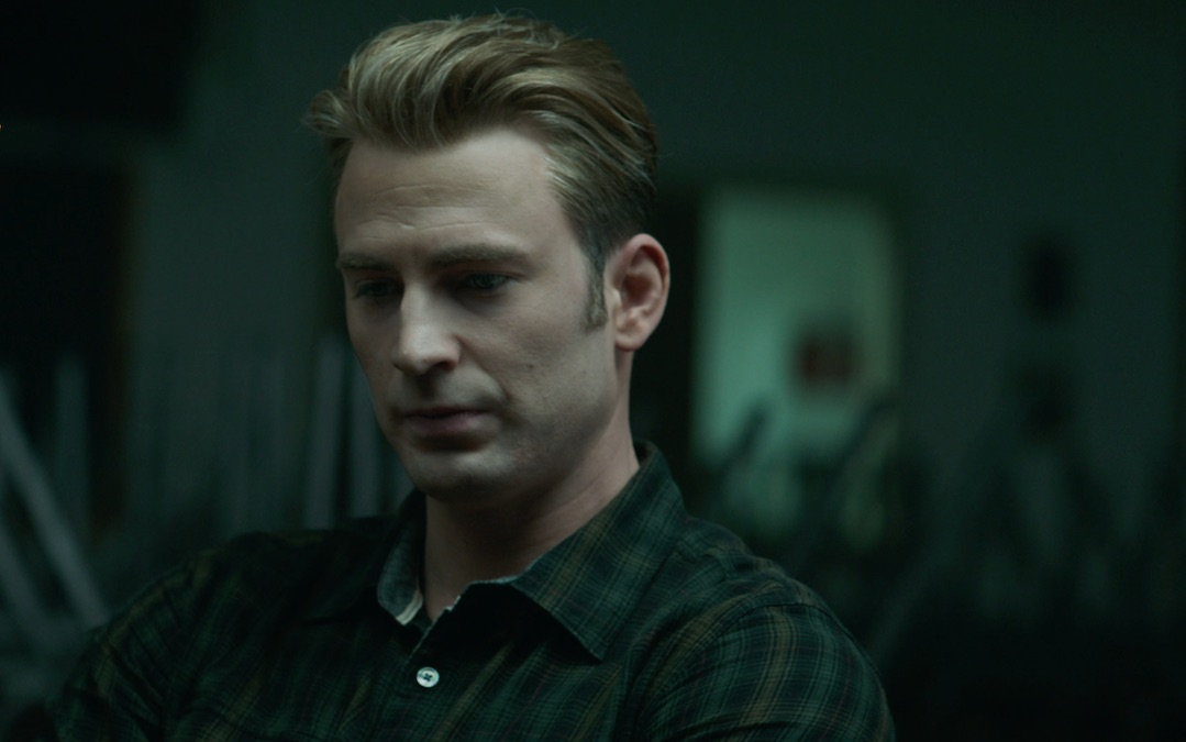Chris Evans as Steve Rogers/Captain America in 'Avengers; Endgame' (Credit: Marvel/Disney)