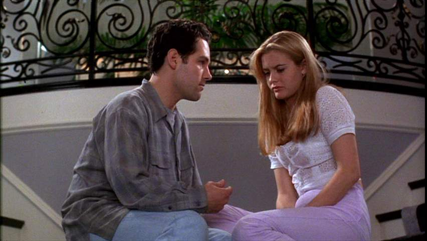 Paul Rudd and Alicia Silverstone in 'Clueless'