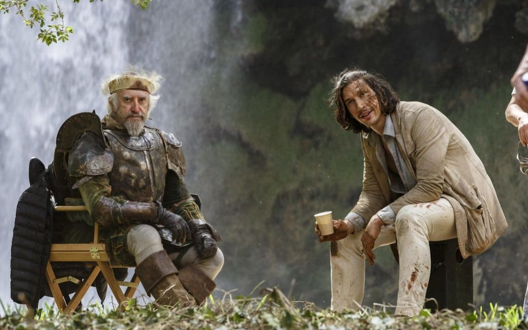 Jonathan Pryce and Adam Driver in 'The Man Who Killed Don Quixote' (Credit: Screen Media Films)