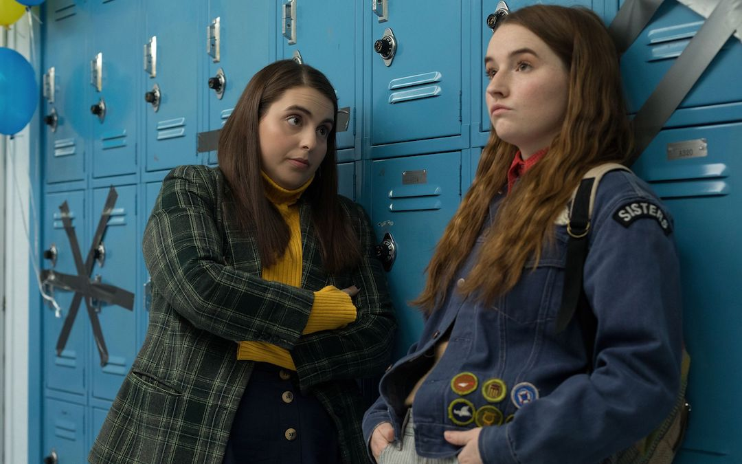 Beanie Feldstein as Molly and Kaitlyn Dever as Amy in 'Booksmart,' directed by Olivia Wilde (Credit: Annapurna Pictures)