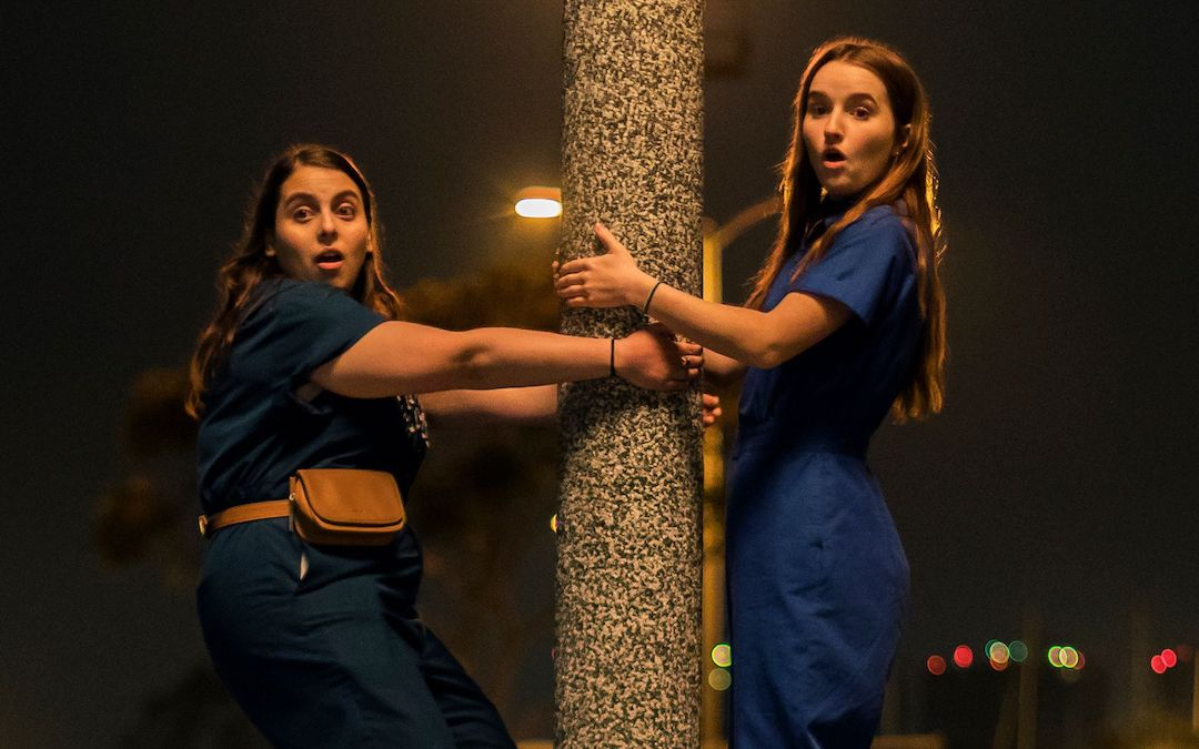 Beanie Feldstein and Kaitlyn Dever as Molly and Amy in 'Booksmart'