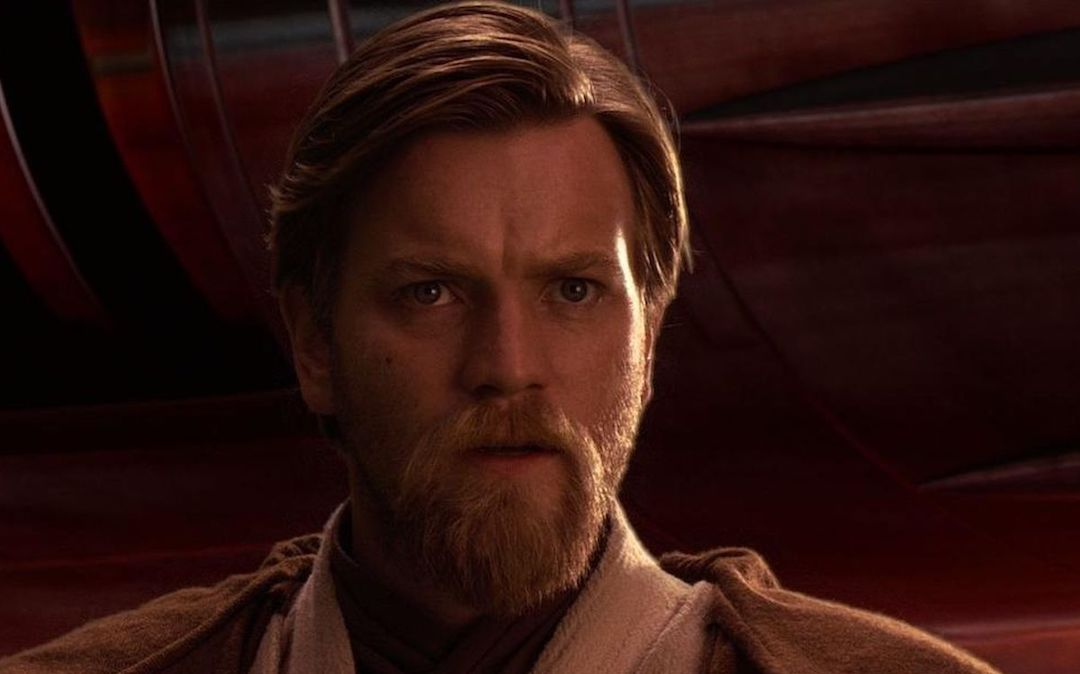 Ewan McGregor as a young Obi-Wan Kenobi in the Star Wars prequel trilogy (Credit: Lucasfilm)