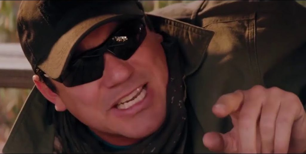 Dean Cain as a parody version of himself in 'Madness in the Method' (Courtesy: Cinedigm)