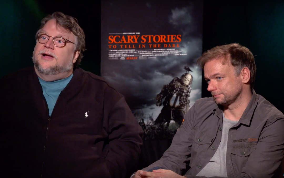 Producer Guillermo del Toro and director André Øvredal talk 'Scary Stories to Tell in the Dark'