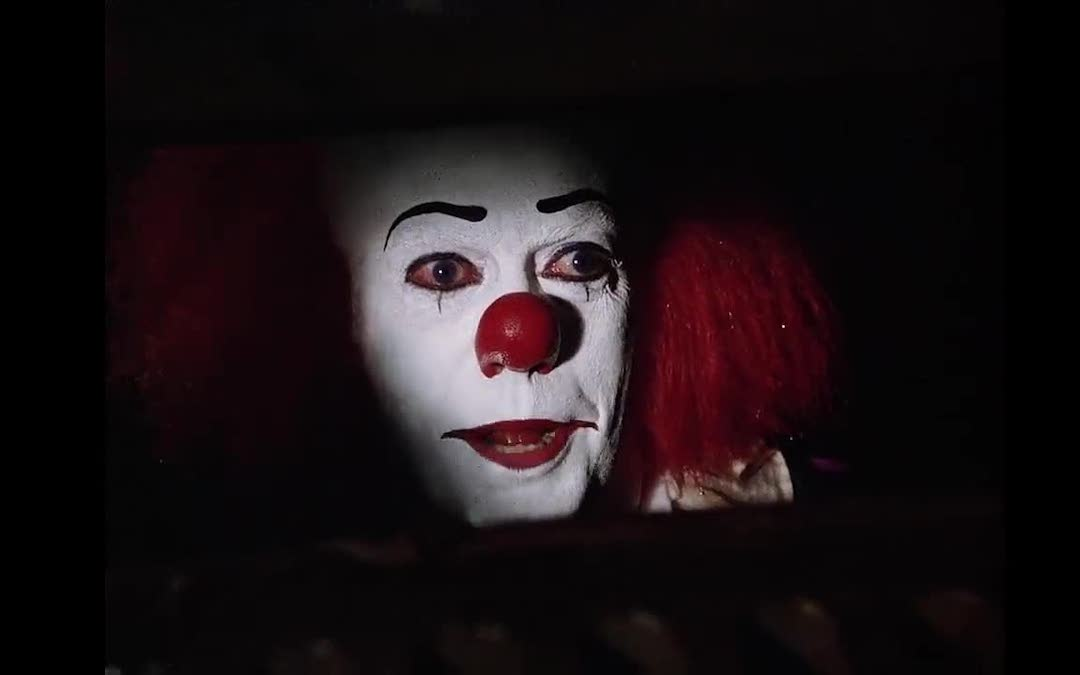 Tim Curry as Pennywise straight f'ed up an entire generation of kids